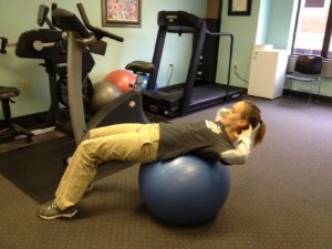 Abdominal Crunch Exercise